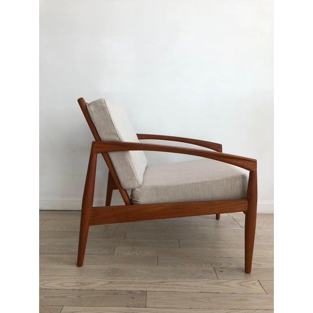 1955 Mid-Century Modern Kai Kristiansen Teak Paper Knife Easy Chair For Sale - Image 13 of 13