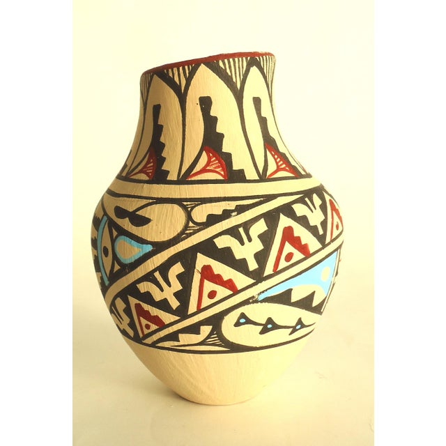 Jemez Native American Pottery Vase - Image 4 of 7