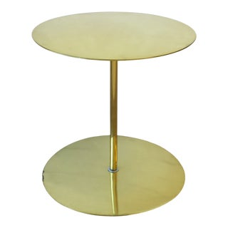 Brass Side or Drinks Table For Sale