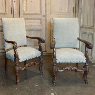 19th Century French Louis XIV Armchairs - a Pair Preview