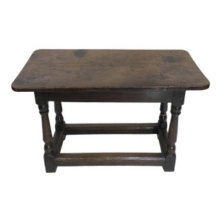 19th Century English Bench For Sale