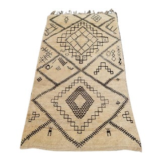 Vintage Moroccan Berber Rug - 5'10''x 10'10'' For Sale