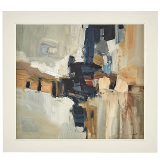 Malcolm Chandler Abstract Painting