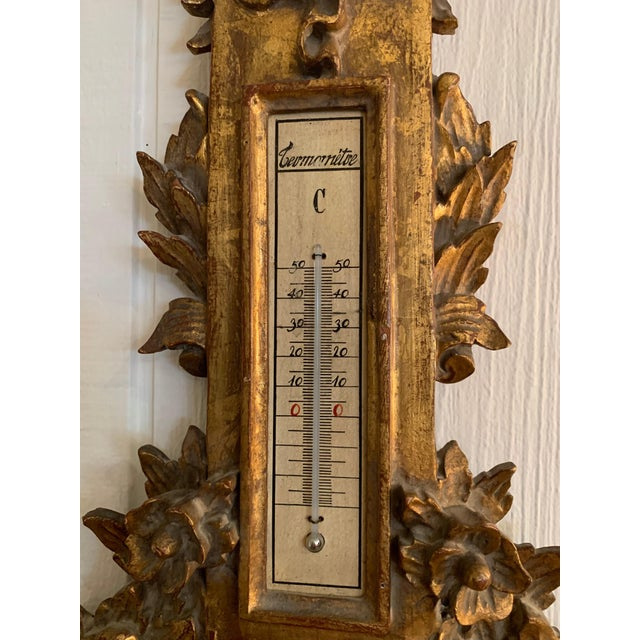 Splendid Ornate Giltwood, Late 18th Century Barometer For Sale In Philadelphia - Image 6 of 11