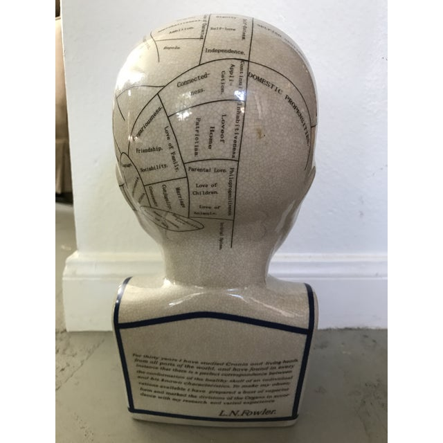 L. N. Fowler Phrenology Bust - Image 4 of 6