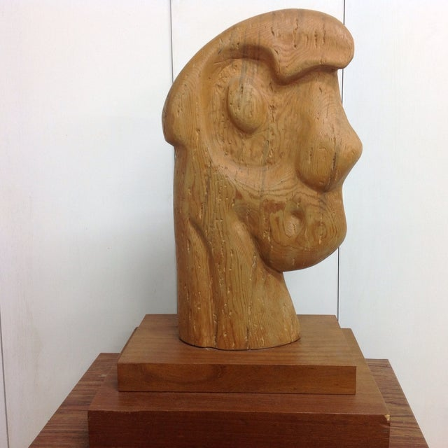 Large Goldstein Sculpture 'Head With Two Faces' - Image 3 of 5