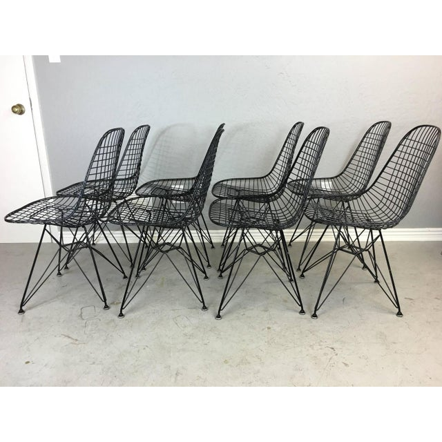 Charles and Ray Eames Dkr5 Eiffel Base Chairs - Four Available - Image 3 of 5