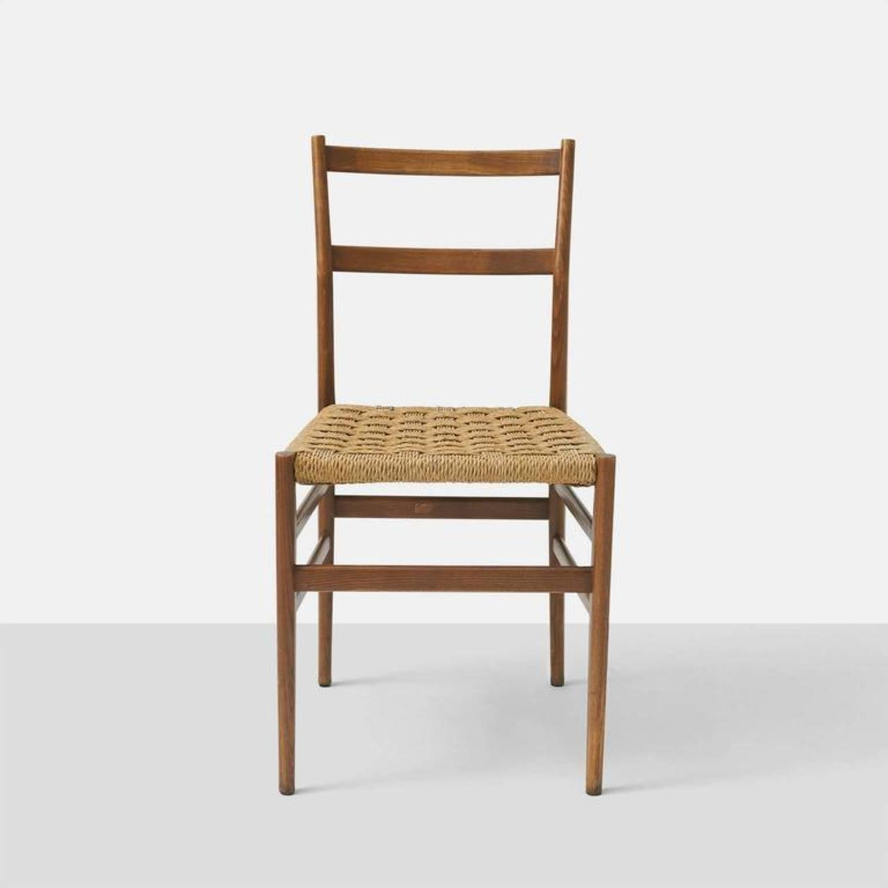 Delicieux Cassina Set Of Eight Leggera Chairs By Gio Ponti For Cassina For Sale    Image 4