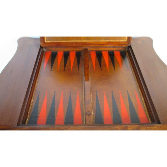 Wood 1940s Beacon Hill Collection Game Table For Sale - Image 7 of 10