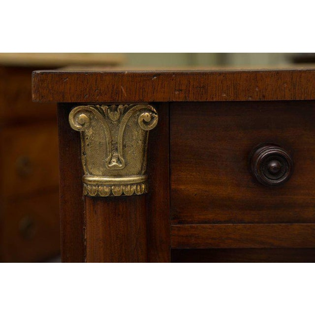 19th Century Mahogany Knee Hole Desk For Sale - Image 4 of 8