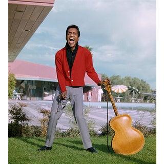 Circa 1956 Sammy Davis Jr. In Palm Springs Photo by Gene Howard (11x14 Print) For Sale