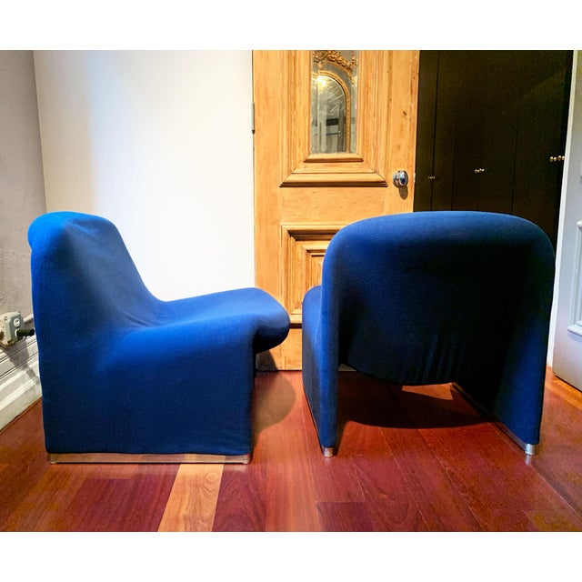 Contemporary 1970s Vintage Giancarlo Piretti Alky Chairs- A Pair For Sale - Image 3 of 13