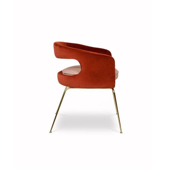 Modern Ellen Dining Chair From Covet Paris For Sale - Image 3 of 7