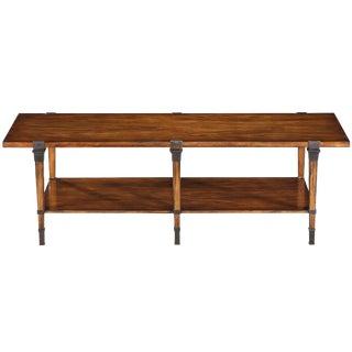Sarreid Ltd. Boulevard Walnut Cocktail Table For Sale