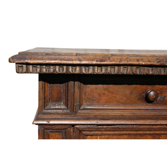 Italian Baroque Walnut Cabinet For Sale In Boston - Image 6 of 13