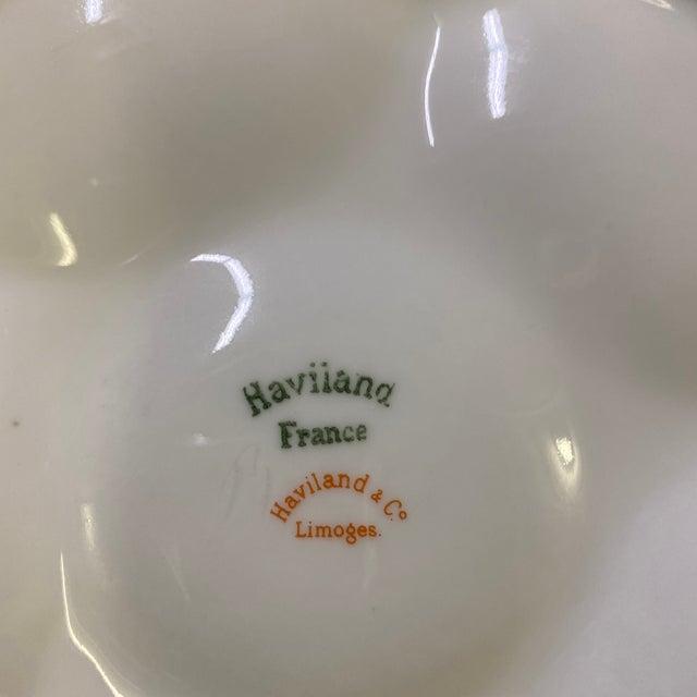 Haviland & Co. Haviland Limoge Oyster Plate For Sale - Image 4 of 7