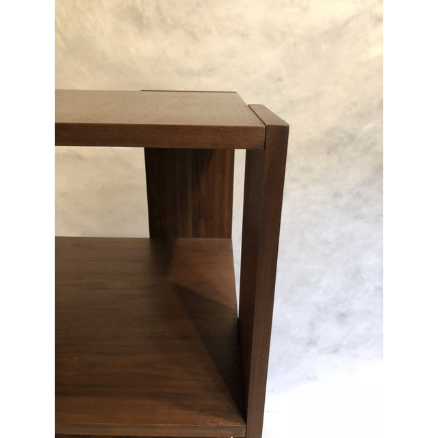 Revolving Walnut Bookcase For Sale In New York - Image 6 of 9