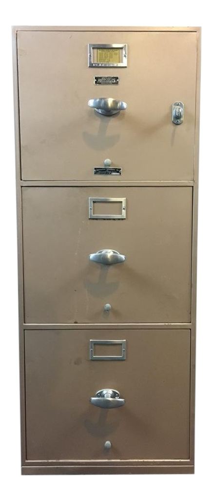 Meilink Built Hercules One Hour Insulated 3 Drawer Filing Cabinet   Image 1  Of 9