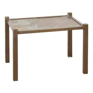 "Philip Kelvin & Laverne Bronze ""Tao"" Table"