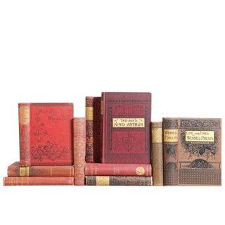 Victorian Literature MIX : Set of Ten Decorative Books For Sale