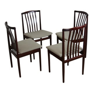 Danish Modern Rosewood Chairs by Vamdrup Stolefabrik - Set of 4
