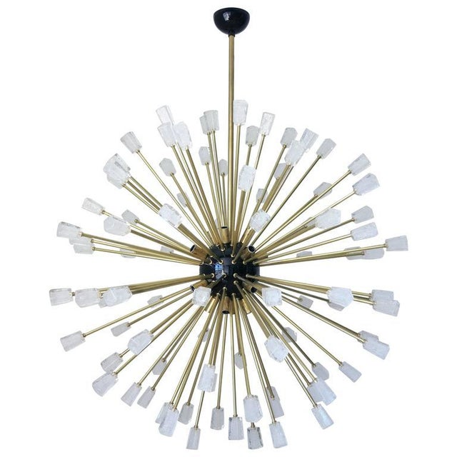 Ice Cubes Sputnik Chandelier by Fabio Ltd For Sale In Palm Springs - Image 6 of 6