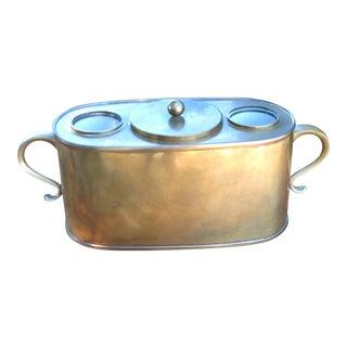 Vintage Copper Wine Cooler For Sale