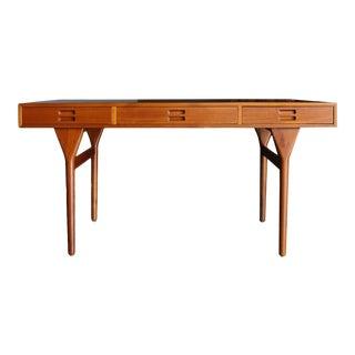 Nanna Ditzel Teak Desk for Søren Willadsen Circa 1958 For Sale