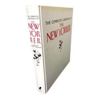 "2000's Vintage ""Complete Cartoons of the New Yorker"" Oversized Coffee Table Book For Sale"
