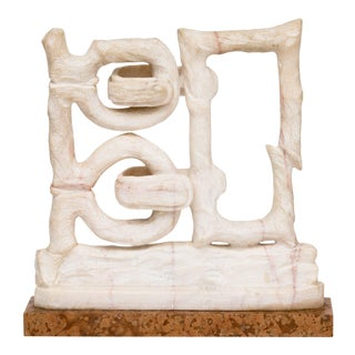 "Monumental ""Wedlock"" Marble Sculpture by Catchi, circa 1979 For Sale"