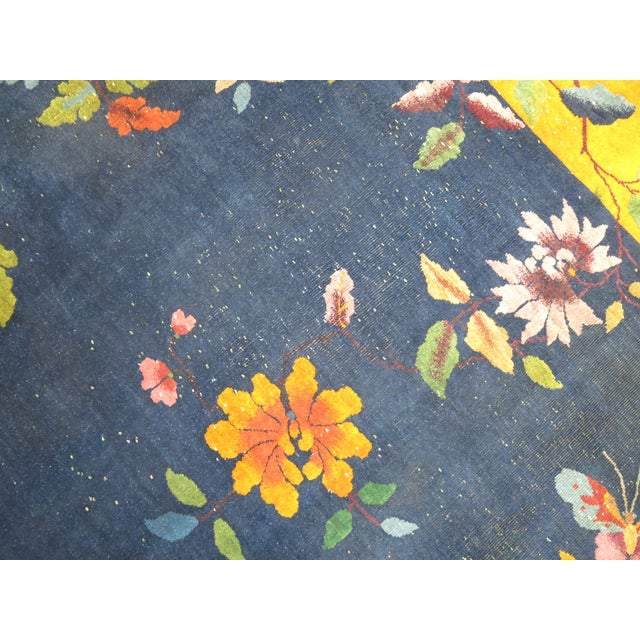 Chinese Art Deco Rug, 9' x 11'9'' - Image 8 of 9