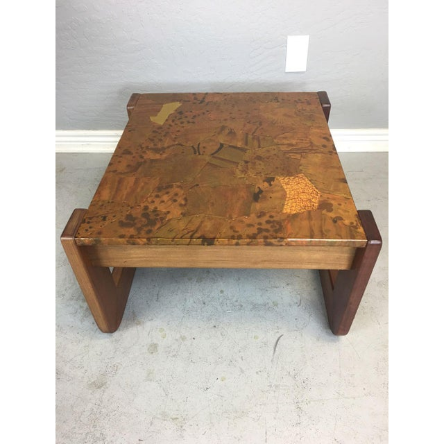 Percival Lafer Rosewood Side Table - Image 6 of 8