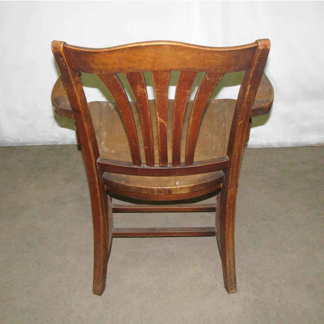 Armchair in overall very good condition. Great for an office chair.