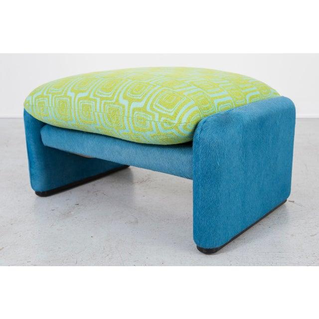 Vico Magistretti Maralunga Chair + Ottoman For Sale - Image 9 of 11