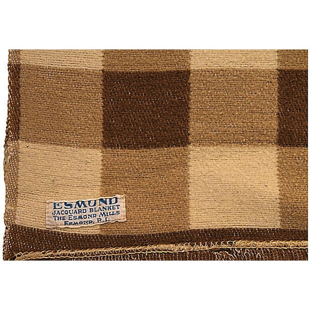 Checkered Camp Blanket - Image 6 of 6