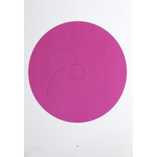 """Max Bill, """"Constellations Vii"""", Geometric Lithograph For Sale"""