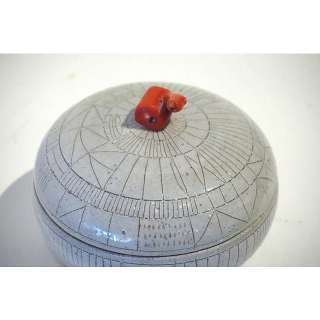Scribed Lidded Box by Heather Rosenman For Sale - Image 4 of 5