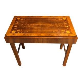 Mid-Century Modern Kunst-Mobel Folding Table For Sale
