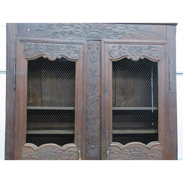 Anglo-Indian 18th C. French Provincial Armoire For Sale - Image 3 of 11