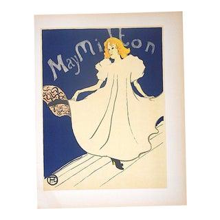 Vintage Toulouse-Lautrec Lithograph-Printed by Mourlot,Paris-1951 For Sale