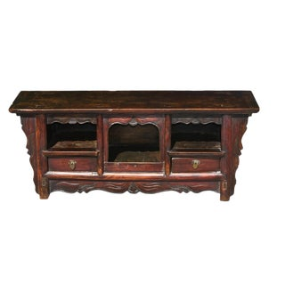 Antique Single Board Altar For Sale