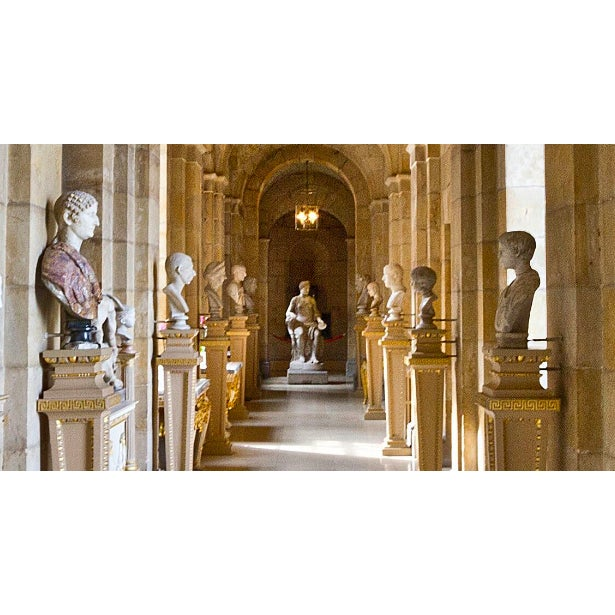 'Castle Howard' Framed and Matted Print on Rag Paper by Michael Beck For Sale - Image 6 of 8