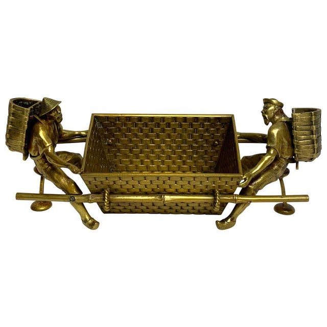 19th Century French Chinoiserie Ormolu Caddy For Sale - Image 13 of 13