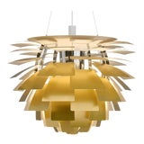 Image of Monumental Poul Henningsen Brass PH Artichoke Chandelier for Louis Poulsen For Sale