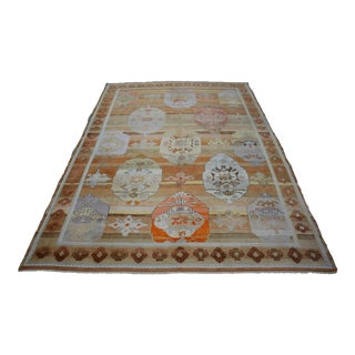 Turkish Contemporary Modern Wool Rug For Sale