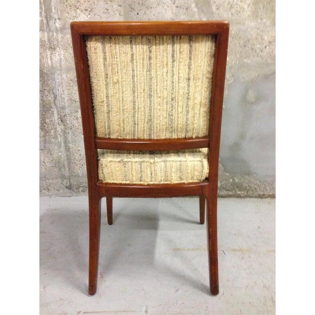 Vintage mid century modern dining chairs set of 4 chairish for Mid century modern dining chairs vintage