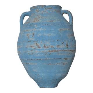 Vintage Turkish Terra Cotta Olive Jar