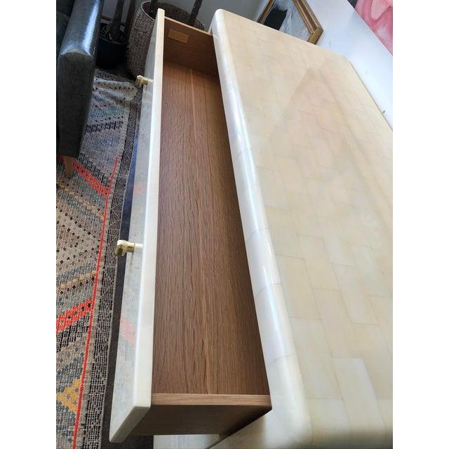 Made Goods Yaren Ivory Faux Horn Dresser For Sale - Image 11 of 12