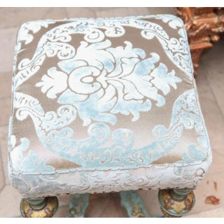 19th C. English Chinoiserie Painted Bench Preview
