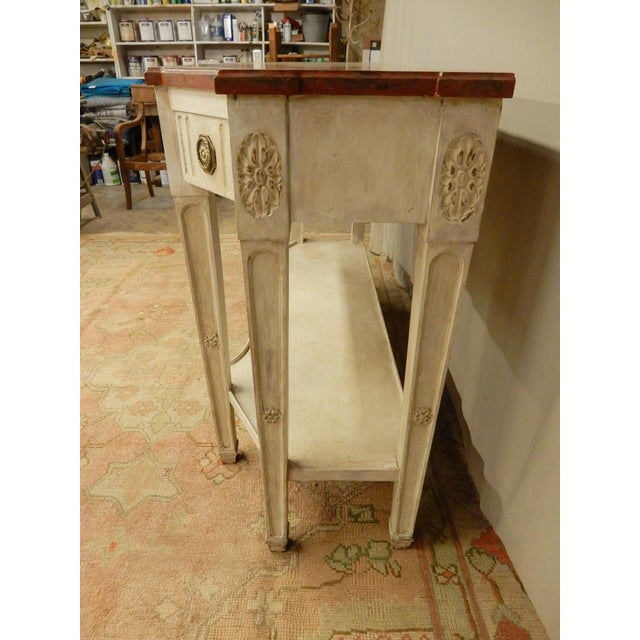 Paint Early 19th C Painted Directoire' Console For Sale - Image 7 of 10